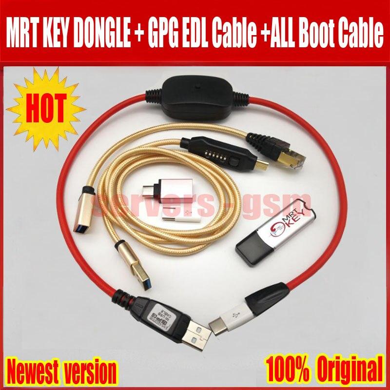 2019 el más nuevo Original MRT clave Dongle + para GPG xiao mi cable + cable UMF todos arranque cable (fácil de conmutación) Y mi cro USB al tipo-C adaptarse