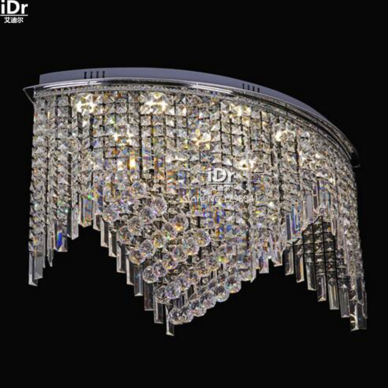 Modern shaped crystal lamp bedroom lamp living room den restaurant Hotel room lights  Ceiling Lights wwy-0192 british snooker billiard lamp senior clubs casino card room lamp cradle pendant lights wwy 0431