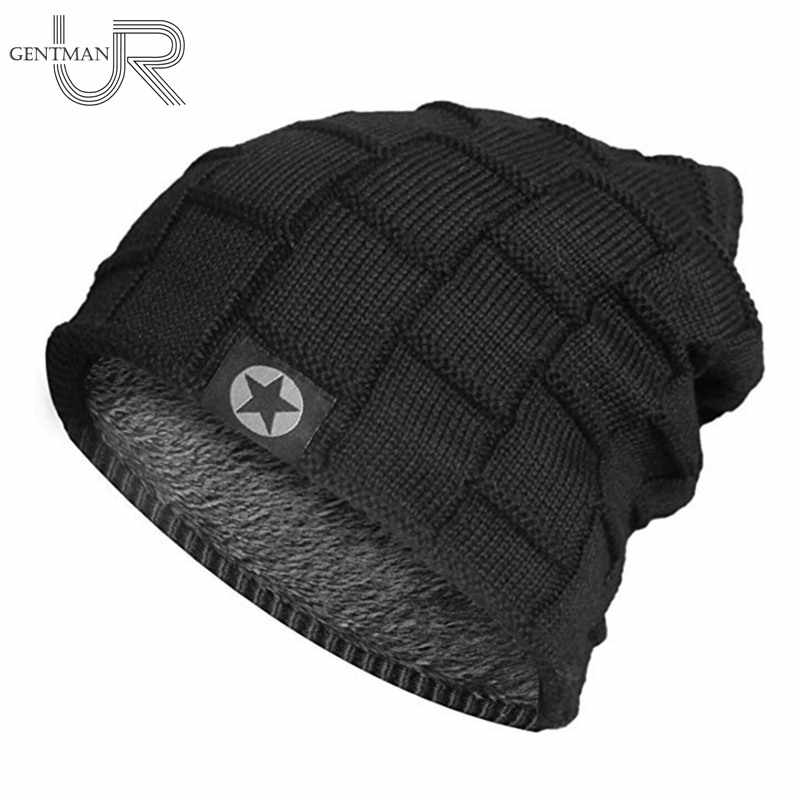 2018 Unisex Fleece Lined Beanie Hat Knit Wool Warm Winter Hat Thick Soft  Stretch Hat For 1928e6eb33b
