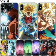 Phone Cases Dragon Ball DragonBall z Soft TPU Case For iPhone X XR XS Max goku Cover for iPhone 5S SE 6 6S Plus 7 7Plus 8 8Plus цена и фото