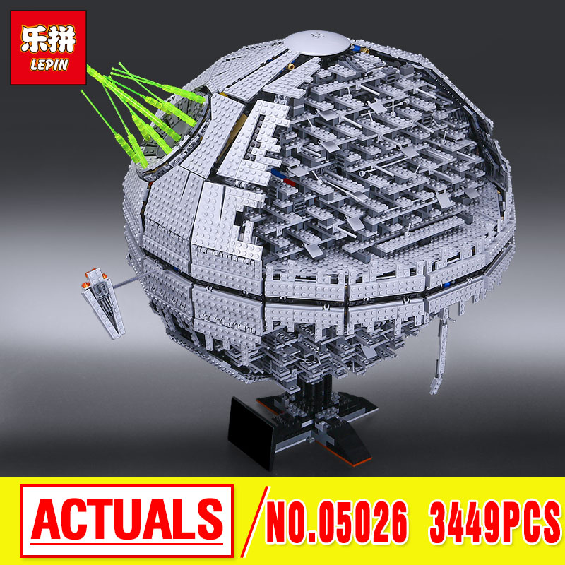 LEPIN 05026 star  NEW Death  The second generation Star Building Block Bricks Funny   10143  wars philip palaveev g2 building the next generation