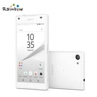 Sony Xperia Z5 Compact E5823 Original Unlocked z5 mini GSM 4G Android Octa Core 2GB RAM 4.6 23MP WIFI GPS 32GB Storage