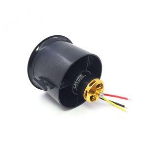 Image 3 - QX MOTOR DIY EDF Ducted Airplane Fan 30mm /50mm/ 55mm / 64mm / 70mm / 90mm with Brushless Motor