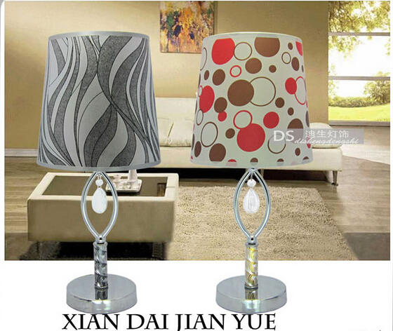 Wrought Iron Contracted Desk Lamp The Bedroom Living Room Lights Beautiful Desk Lamp 702 Double