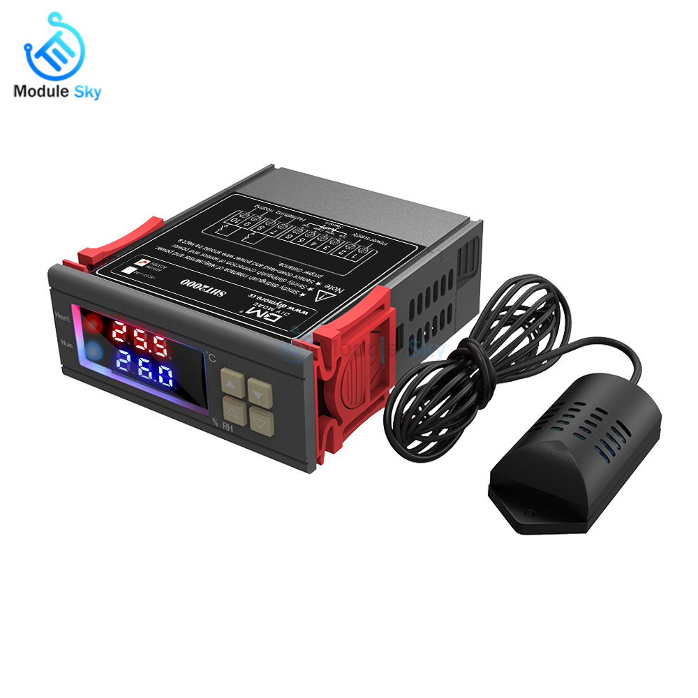 2 in 1 Digital Thermostat Humidist SHT2000 Temperature