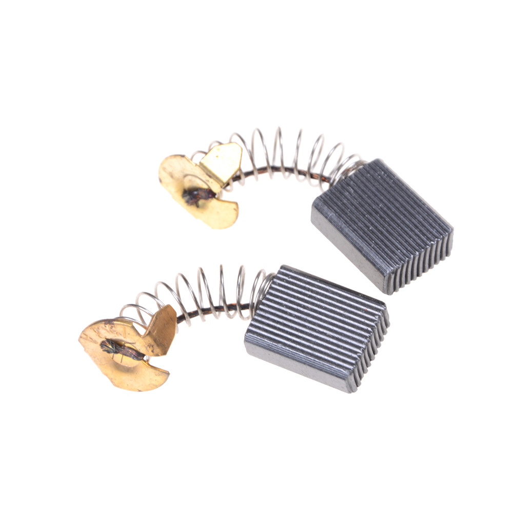10pcs Carbon Brushes 16*13*6mm Mini Drill Electric Grinder Replacement Carbon Brushes For Makita Electric Motors Abrasive Tools