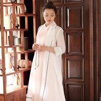 2017 Summer New Buddha Smile Edge of The Smoke Wave Silk Raw Silk Shawl Coat Clothes