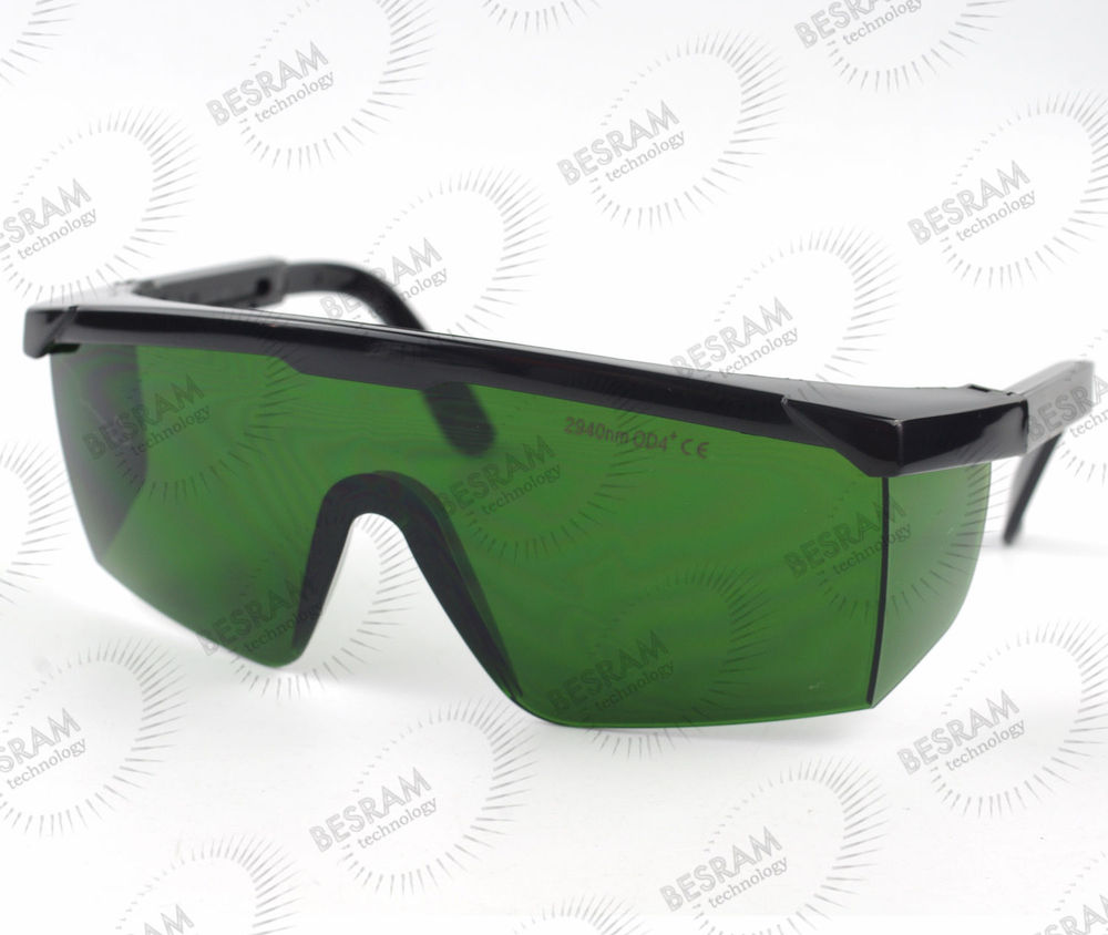 EP Er:YAG 2940nm OD4+ Far IR Infrared Laser Protective Goggles Safety Glasses T=30% IPL 800nm 1700nm od4 900nm1100nm od5 laser protective goggles safety glasses 52