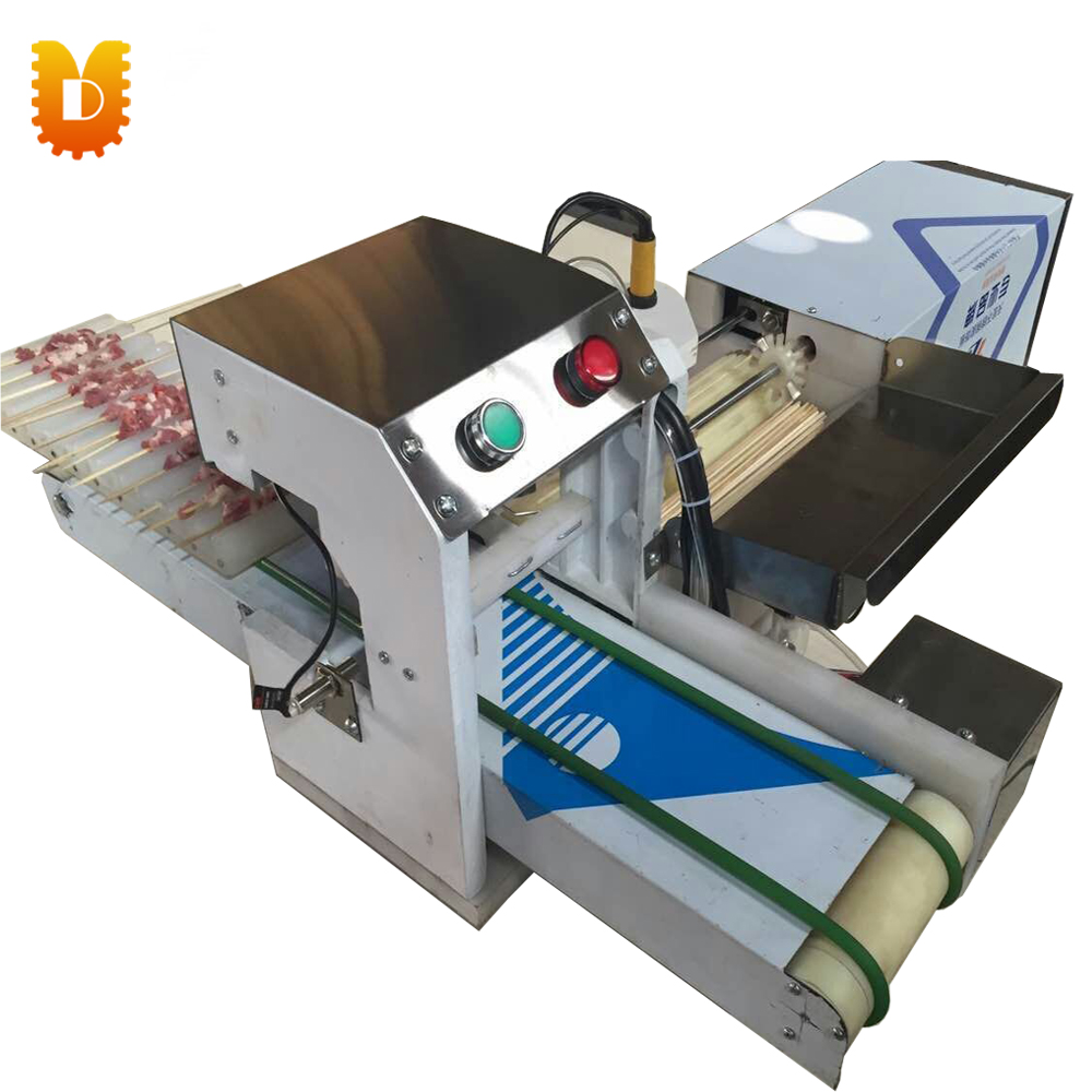 Automatic Satay String Making Machine/Mutton Kebab Machine/Meatball Wear String Machine 1pc hot sale 100%quality guaranteed doner kebab slicer two blades electrical kebab knife kebab shawarma gyros cutter