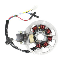 7 Coil Stator Ignition Magneto Assembly for 50cc 2- Stroke Minarelli 1PE40QMB Jog Engine Parts