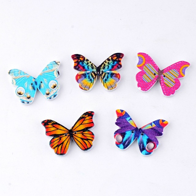 Free Shipping Retail 10pcs Random Mixed Lovely Butterfly Animals 2
