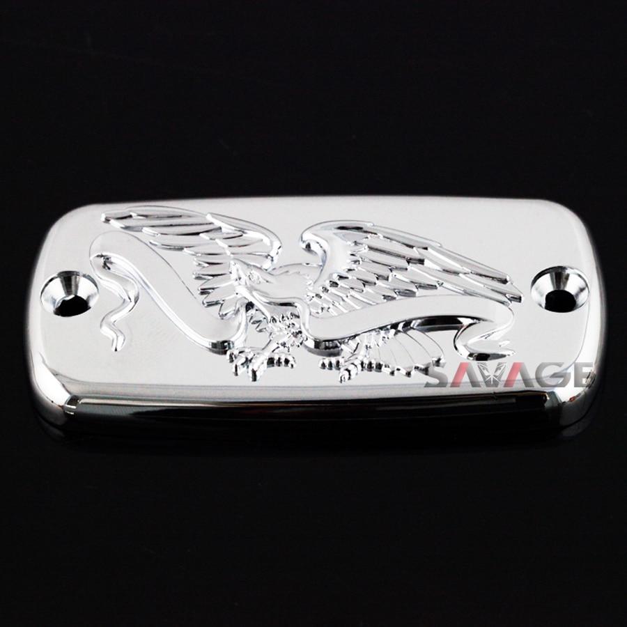 For HONDA VTX 1300C/1300R/1300S/1300T VF 750 Magna Shadow Aero 750 Motorcyle Front Brake Cylinder Reservoir Cover Cap Eagle