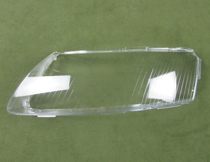 Image 4 - ヘッドランプカバーガラス透明ランプシェードランプシェードヘッドライトアウディ A6L A6 06 11 2 個