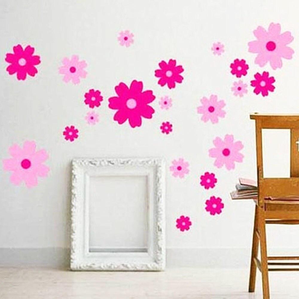 Flowers Home Decor Girl Children/'s Nice Room//Nursery Wall Sticker Art Decal