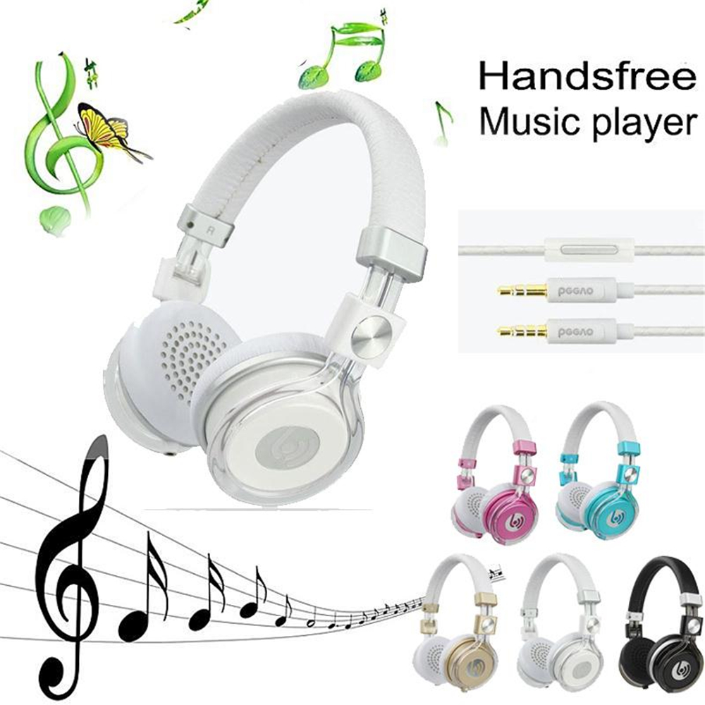 Beevo HM770 HiFi Stereo Gaming Game Video Over Ear Headset Music Earphone Phone Headband Headphone with Mic Microphone Gift game over