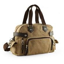 Купить с кэшбэком Canvas Men Travel Bags Retro leisure Carry on Casual Luggage Bags Men Bags Travel Tote Messenger Baggage Crossbody bag