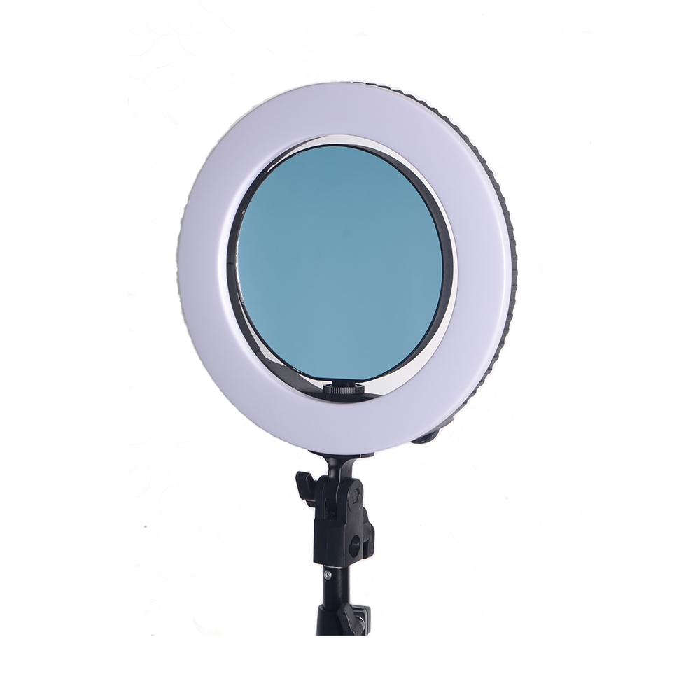 Yidoblo QS 280 mini size 10 Camera Selfie make up Foto/Studio/Telefoon/Video LED Ring Licht Fotografie dimbare Ring Lamp
