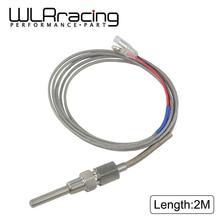Датчик температуры выхлопных газов 2 м датчик термопары EGT Температура выхлопа датчики erature резьба температура выхлопа датчик WLR-CGQ0101