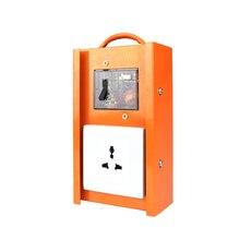 цена на Shatter-Resistan Building Site Socket 220V Five Hole Socket Outdoor industry Socket Universal Socket Hole For US/EU /UK Plug