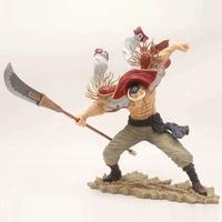 10 One Piece Anime Whitebeard Edward Newgate Ichibankuji Prize A SC ver. Boxed 25cm PVC Action Figure Model Doll Toys Gift