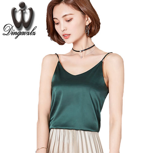 02d2c3aaaf8 Women sexy strapless camis tank tops 7 colors sleeveless shirts ladies  casual streetwear asymmetrical blouses blusas