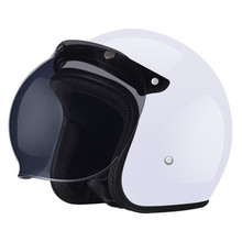 HOT SELL Motorcycle Helmets Outdoor Sport Man And Woman Black Racing Helmet  Scooter M L Xl