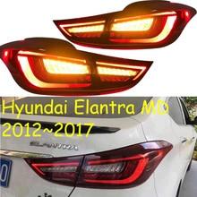 Видео, автомобильный бампер Elantra задний светильник, MD Avante,2012 ~ 2017, светодиодный, автомобильные аксессуары, Elantra задний светильник, задний фонарь Elantra противотуманный светильник
