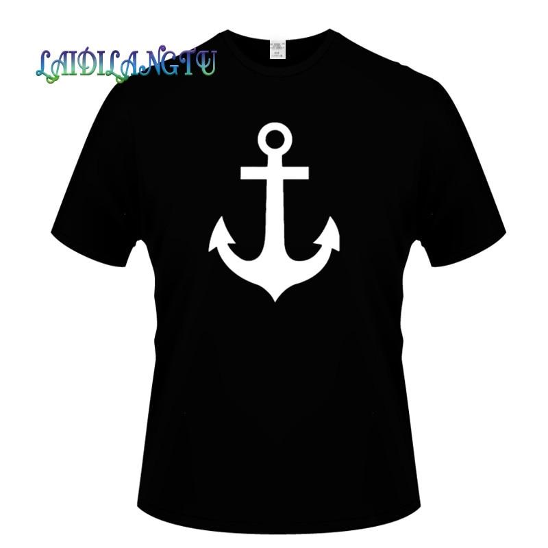 Popeye pirata tatuaje Popeye inspirado en hombres camiseta impresa manga corta hombres algodón o-cuello camiseta verano ropa Casual