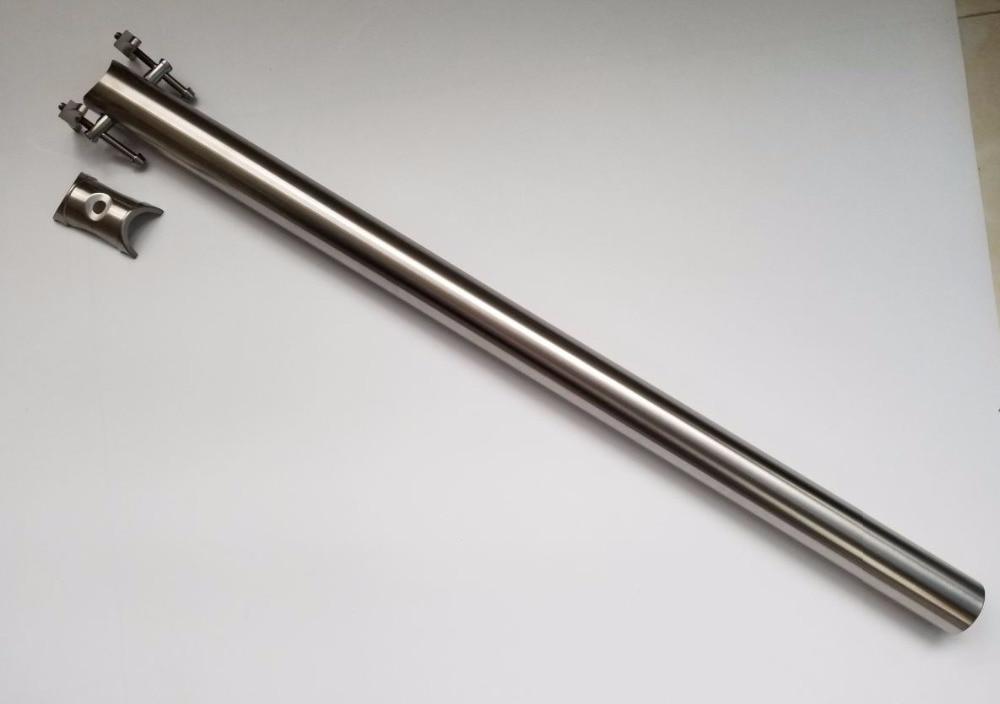 Titanium Alloy 3AL2.5V 31.8mm CNC Seatpost for Brompton Folding  Bike 4 Sizes 600/580/550/520mmBicycle Seat Post