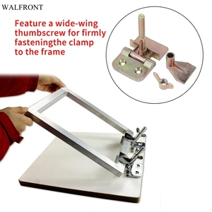 Image 1 - Abrazadera para bisagra de mariposa, accesorio para bisagra de mariposa de Metal con serigrafía, 2 unidades