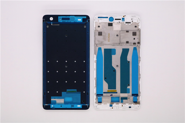 New Redmi Note 4X Front LCD Housing Middle Faceplate Frame Bezel For Note 4X(Snapdragon 625) Replacement Parts With Stickers