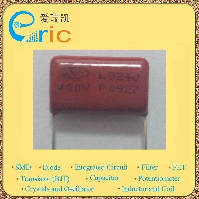 50 pz 924 400 v p20 0.92 uf 920nF 20mm cbb21 mpf metallizzato condensatori film di polipropilene SKU-HX1626