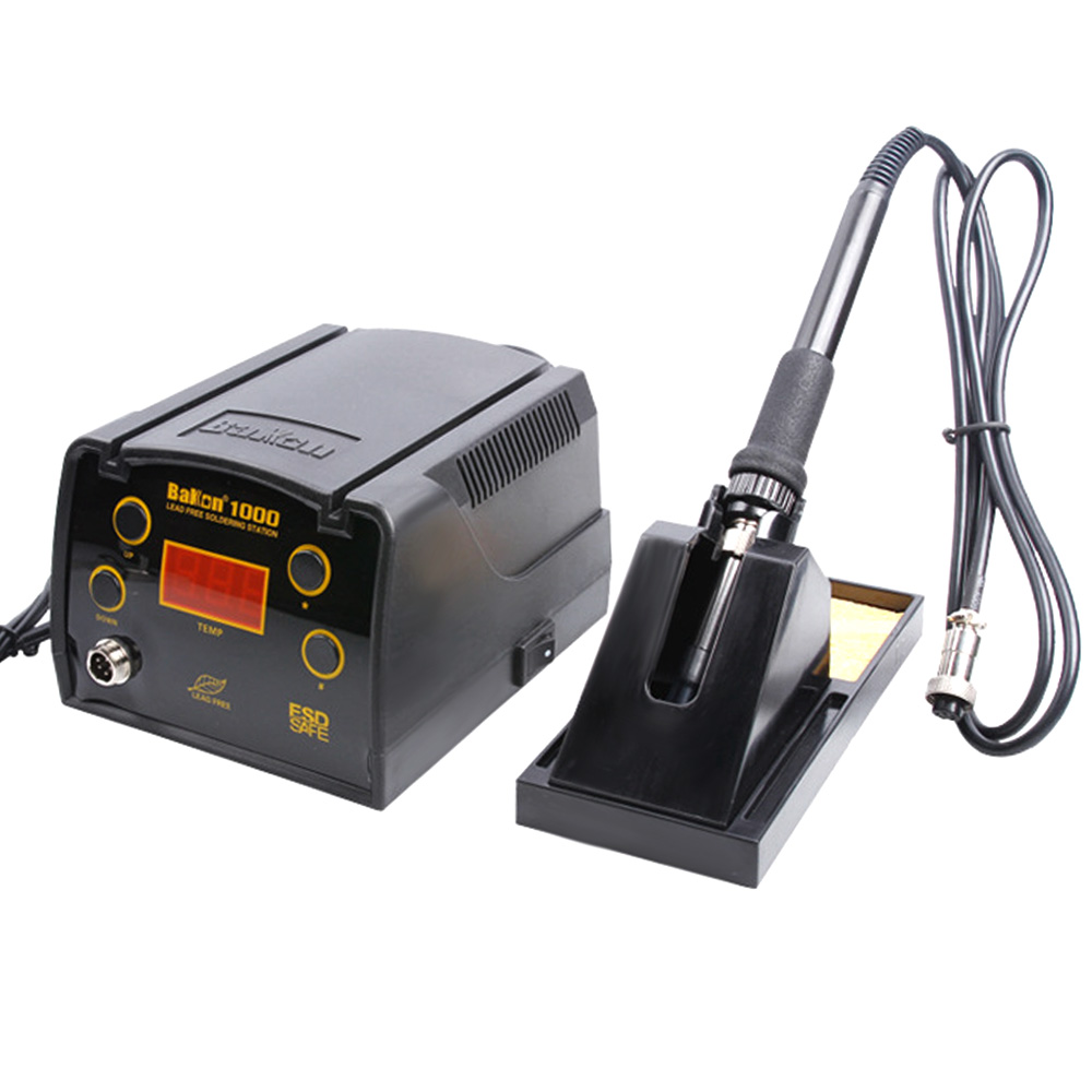BAKON BK1000 90W Soldering Station High Frequency Adjustable Temperature Soldering Iron With LCD Digital Station