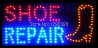 CHENXI Hot Sale repair shoe shop open neon sign Graphics 24x13 Inch indoor Ultra Bright flashing of Led