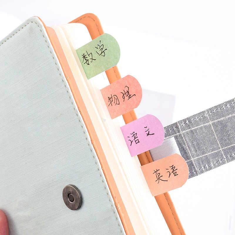 120 Pages mignon bloc-Notes Kawaii Notes autocollantes papeterie autocollant index affiché il planificateur autocollants bloc-Notes bureau papeterie