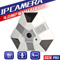 XMEye 4MP 3MP Full HD Dome IP Camera With POE Audio Fisheye Lens Night Vision CCTV Security 180/360 Degree Panoramic View