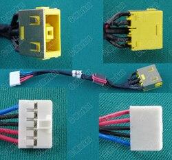 1 20 sztuk oryginalny nowy Laptop DC Power Jack z kabel do lenovo G500S G505S DC Jack z kablem DC30100PD00 w Złącza od Lampy i oświetlenie na