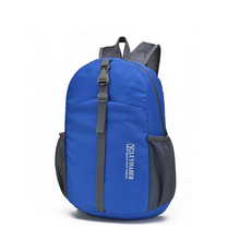 Zebella Foldable Backpack Waterproof Men Women Travel Backpacks Lighiweight Bag Pack Nylon Large Capacity Portable Bags