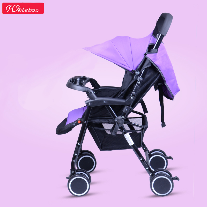 BabyStroller Safety Twins Strollers Super Light 4.8KG for Single Stroller Strong Suspension Carriage Free Gifts 8pcs Prams 2017 two babies strollers for twins old bebek arabasi prams for newborns baby girl