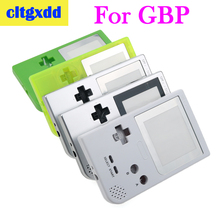 cltgxdd Full Case Cover Housing Shell Replacement For Gameboy Pocket Game Console For GBP Controller Housing With Buttons Kit стоимость
