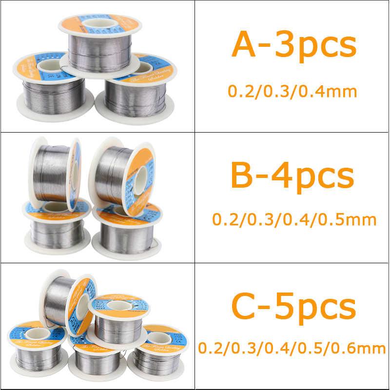 Lassen Draad 0.2/0.3/0.4/0.5/0.6mm Diameter Soldeer Tin Loodvrije Soldeer Solderen laag Smeltpunt Solderen Supplies