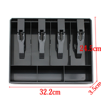 2014 New Free Shipping Classify Store Cashier Drawer Box 32x25cm
