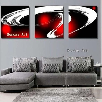 3 Panel Wall Canvas Painting Hand Painted Abstract Oil Painting Modern Home Decor Wall Art Handmade wall picture for living room