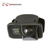 Câmera traseira de visão noturna para carro, câmera traseira de toyota corolla 2007 2008 2009 avensis t25 t27 auris câmera de backup