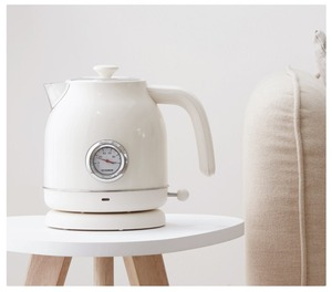 Image 3 - Электрический чайник с контролем температуры, большой емкости 1,7л с часами