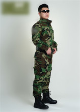 Camouglage Suit Jungle Clothes Jacket and Pants Outdoor Live CS Field Training Uniform CP Camouflage Suit