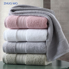 1pc 150*80cm 100% Pakistan Cotton Bath Towel Super absorbent Terry Beach towel Large Thicken Adults Free shipping