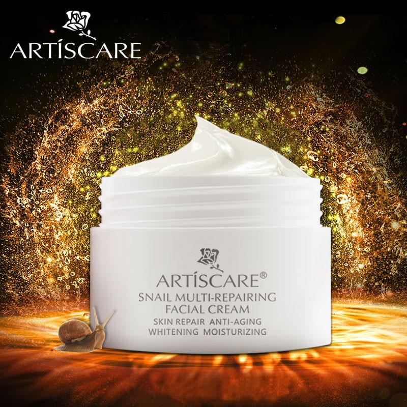 цена на ARTISCARE Snail Repair Facial Cream Aging Aniti Oil-Control Face Cream Anti Wrinkle Shrink Pores Moisturizing Lifting Skin Care