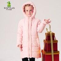 KAMIWA 2016 Cotton Padded Jackets For Teenage Girls Autumn Winter Coats Clothing Thicken Brand Parkas Kids