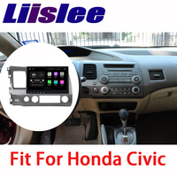 Liislee For Honda Civic 2006~2011 Car Navigation GPS Android HD Touch Screen Audio Video Radio Multimedia Player No CD DVD